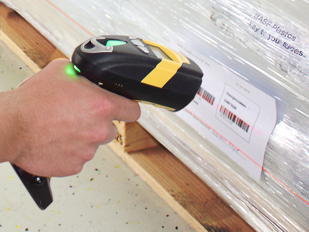 Koch-Technik option for central conveing systems: the barcode capture