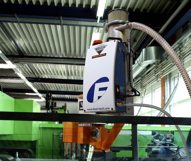 injection moulding machine with KOch-Technik KEM and Fast ERD Xpert+
