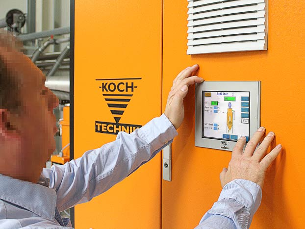 CKT dryer in use 2 koch technik